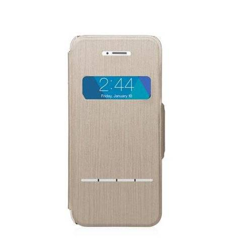 Moshi SenseCover - Carcasa para Apple iPhone 5/5S, color beige