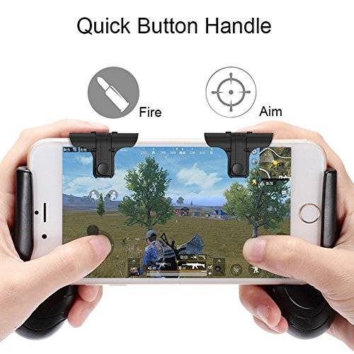 KSLLOX Mobile Phone Game Controller, Sensitive Aim and Fire Buttons, Universal Joysticks for iPhone and Android Smart Phone