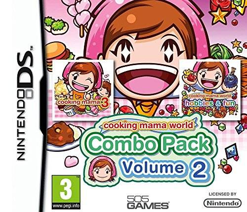 505 Games Cooking Mama World : Cooking Mama 3 + Cooking Mama : Ateliers Créatifs [Combo pack : Vol 2] [Importación francesa]
