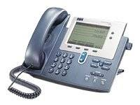 Cisco Systems Unified IP Phone 7940G - Teléfono (base, G.711, G.729a, H.323, MGCP, SCCP, SIP, LCD, 48 VDC, 0 - 40 °C)