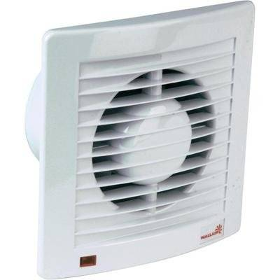 Wallair W-style 120 ventilador Extractor 180 mm x 180 mm x 101 mm