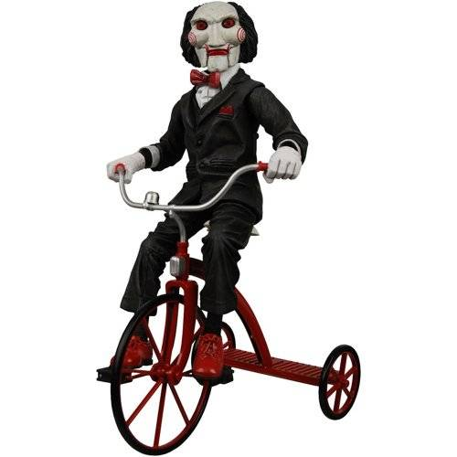 NECA Action Figur Cult Classics - Saw Puppet on Tricycle 12
