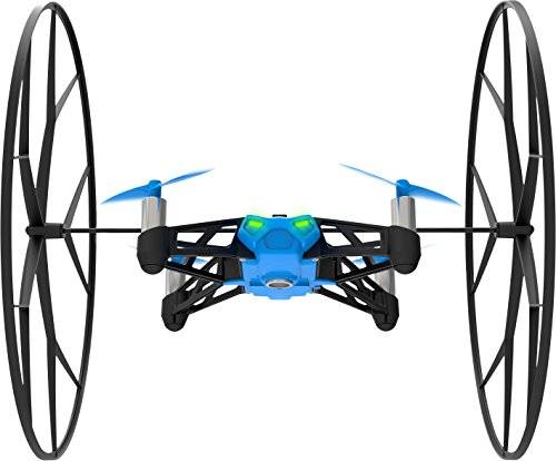 Parrot MiniDrone Rolling Spider, color azul (PF723001AA)