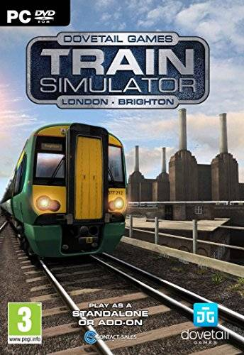 Dovetail Games London To Brighton - Stand Alone And Add-On For Train Simulator 2015/2016 (PC DVD) [Importación Inglesa]