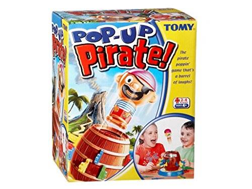 Tomy (TOMY) Pop-Up Pirate! (Ages 4+)