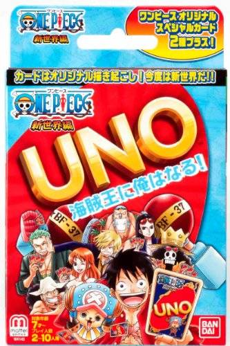 Nintendo One Piece: The New World Part One Mattel UNO Card Game (japan import)