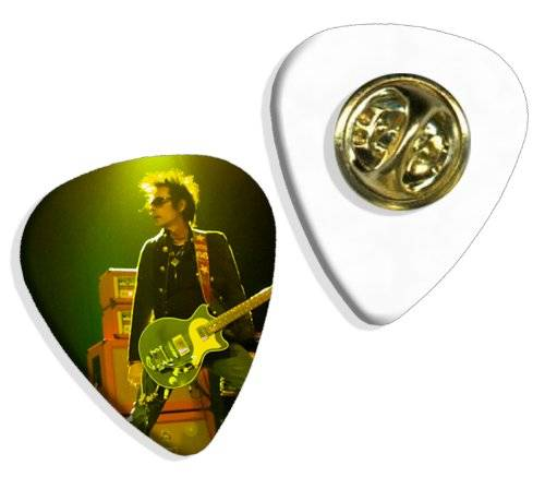 Live Performance New York Dolls (DW) Live Performance Guitarra Pick Badge Placa