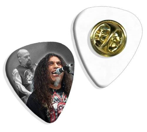 Live Performance Slayer (WK) Live Performance Guitarra Pick Badge Placa