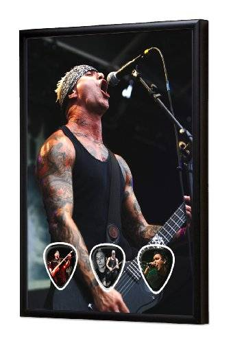Live Performance Sick of It All (JCW) Live Performance Framed Guitarra Pick Display
