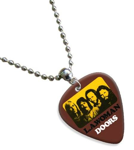 Printed Guitarra Picks Doors La Woman Premium Guitarra Púa Para Collar Necklace