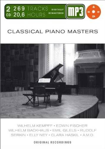 Various Artists Classical Piano Masters-Mp 3