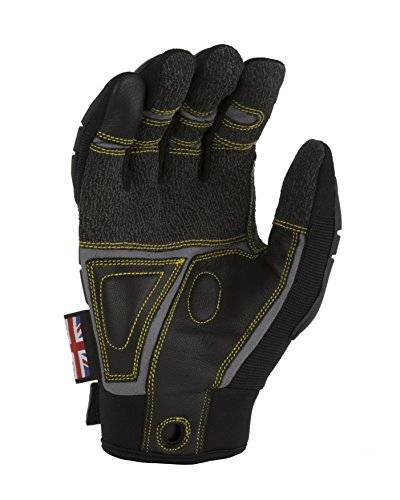 Dirty Rigger DTY-PROTECL - Guantes (tamaño: L) color Negro