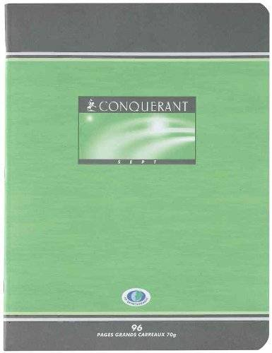 Cahier brouillon 17x22 48p seyes