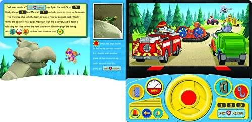 PI Kids PAW Patrol - Pups & the Pirate Treasure Steering Wheel Book