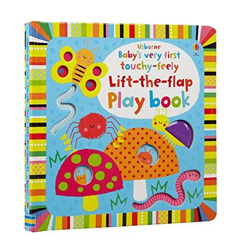 Fiona Watt Baby's Very First Touchy-Feely Lift-The-Flap Playbook