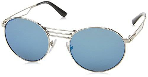 Vogue 0Vo4044S, Gafas de Sol para Mujer, Brushed Silver, 52