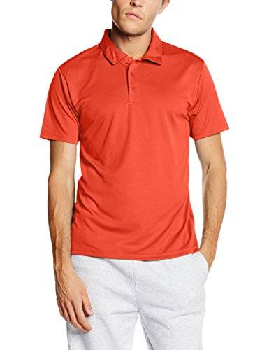 Fruit of the Loom Ss074m, Camisa para Hombre, Rosso, Small