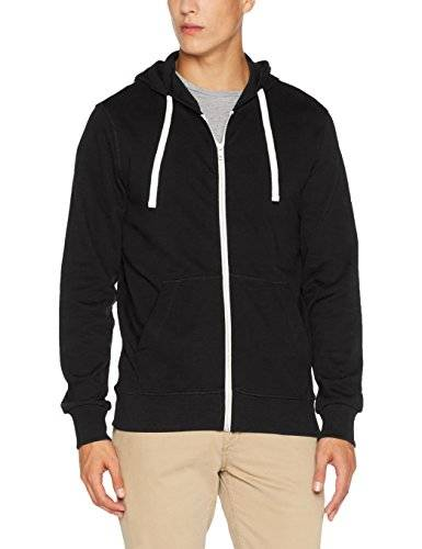 Jack & Jones Jorholmen Sweat Zip Hood Noos, Sudadera para Hombre, Gris (Tap Shoe Fit:Reg Fit), Large