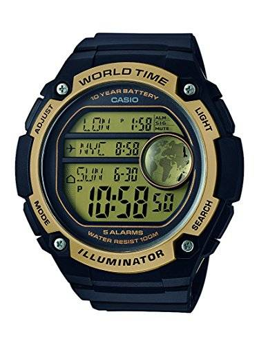 Casio Collection Reloj Digital para Hombre con Correa de Resina – AE-3000W-9AVEF