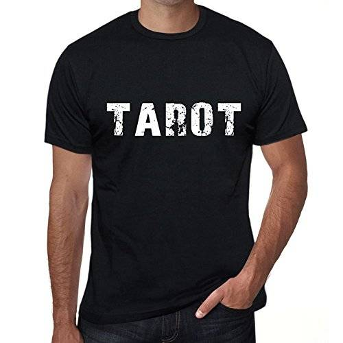 One in the City Tarot Hombre Camiseta Negro Regalo de Cumpleaos 00553