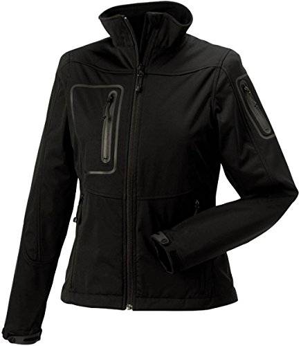 Russell Athletic Ladies ajustable Deportes Soft Shell Chaqueta
