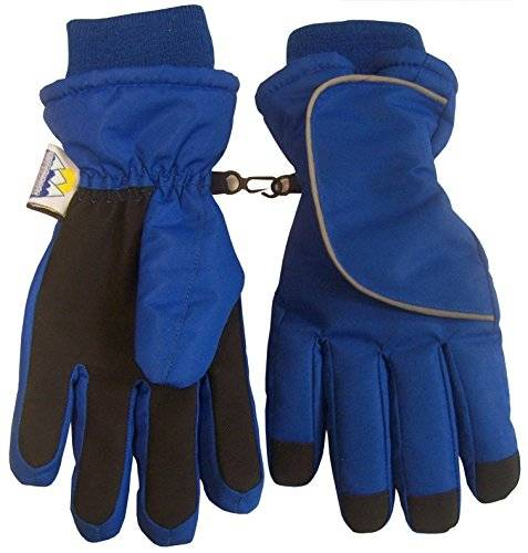 ICE N 'Ice Caps Kids Easy On Thinsulate guantes de impermeable Wrap de velcro y