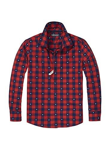 Tommy Hilfiger Camisa Tommy Hilfiger Clipped 16 Rojo