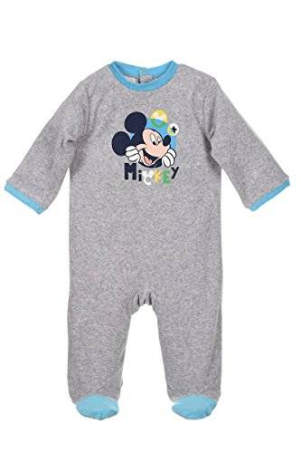 Disney PIJAMA ENTERIZO MICKEY MOUSE GRIS 23 M