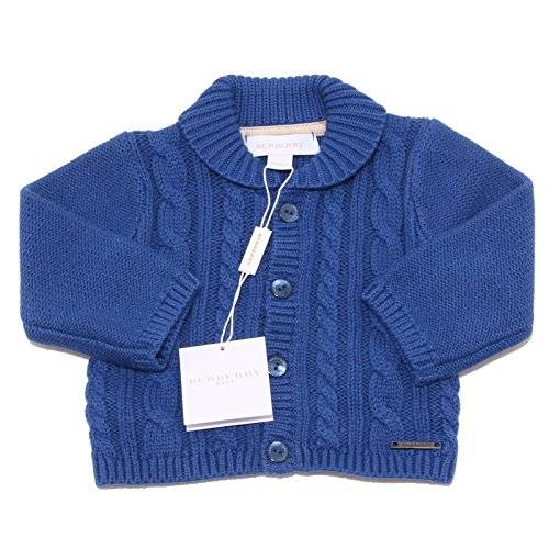 Burberry 50880 cardigan bimbo bluette BURBERRY BABY sweaters jumpers kids [9 M0NTHS]
