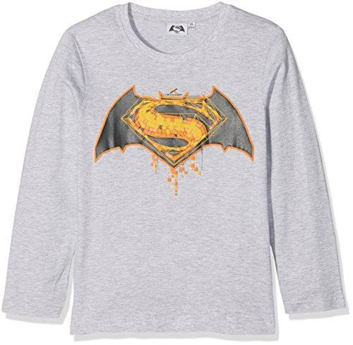 Batman vs Superman Chicos Camiseta mangas largas - Gris - 152