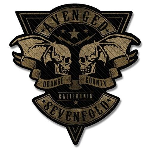 Avenged Sevenfold parche–Orange County Cut Out–Avenged Sevenfold Patch–tejida & licencia oficial..