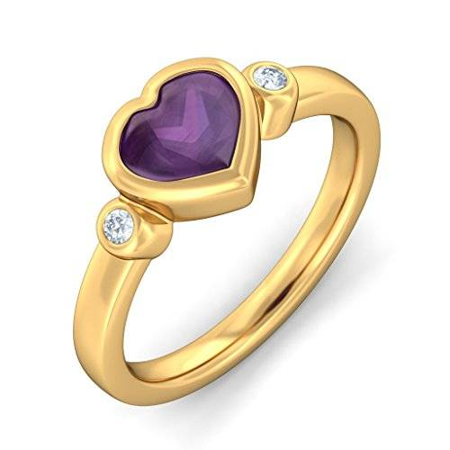 Peacock Jewels   750 Gold  oro amarillo 18 quilates (750) round-shape As shown in Image   IJ amatista