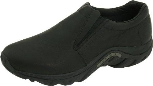 Merrell hombres Jungle Moc Leather Slip-On zapatos,Midnight Slip-On zapatos,11.5 M US