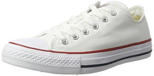 Converse Men's Chuck Taylor All Star Classic Sneakers White in Size 45