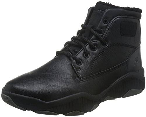 Skechers RIDGE FOWLER Men's Outdoor Boots leather BLK, tamaño de zapato:EUR 44