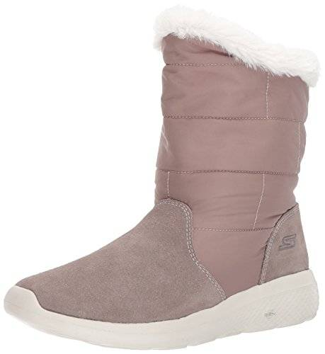 Skechers On-the-Go City 2, Botas para Mujer, Beige (Taupe), 41 EU
