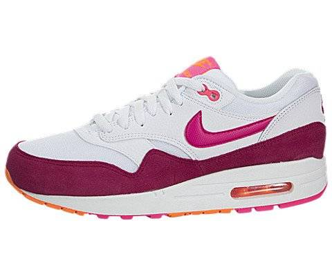 Nike - Wmns Air Max 1 Essential - Color: Blanco-Rojo-Rosa - Size: 39.0