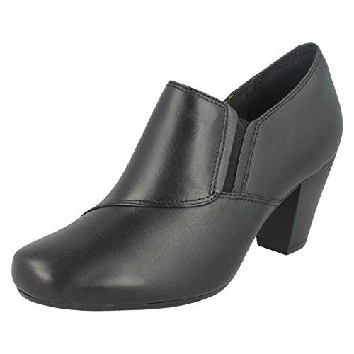 Clarks Garnit Colette - Black Leather