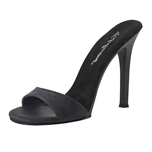 Fabulicious - Always in the Spotlight Zapatilla Alta Mujer, Color Negro, Talla 36