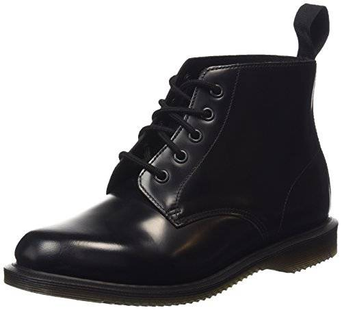 Dr. MartensEMMELINE Pol. Smooth BLACK - Náuticos mujer , color negro, talla 42
