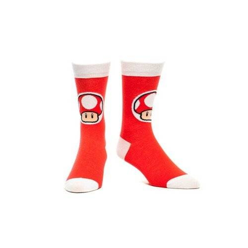 Sunset International Chaussette Nintendo Toad Rouge