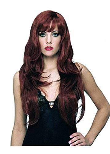 Wigs women long red/brown Carnival trendy Carnival Halloween (peluca)