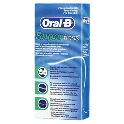 Oral-B Oral B Hilo Dental Super Floss 50 metros