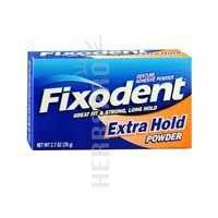 Fixodent Extra Hold Denture Adhesive Powder - 2.7 Oz by Fixodent