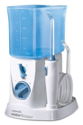 Waterpik WP250UK - Irrigador dental, color blanco [Importado de Inglaterra]