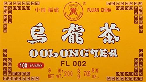 Bites of Asia Butterfly Brand Oolong Tea 100 Bags