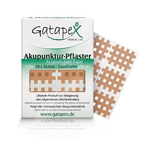 Gatapex Medical Akupunktur - Paquete de 120 parches para acupuntura