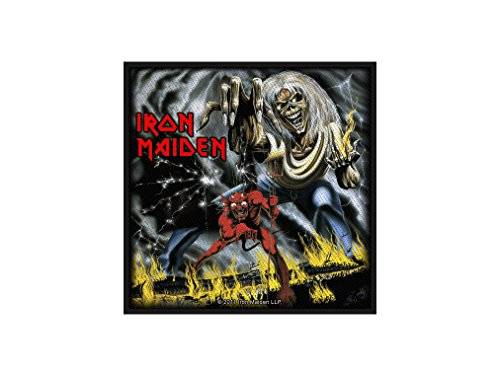 Halle15 SP2562 Iron Maiden – The Number of the Beast, parche de tela