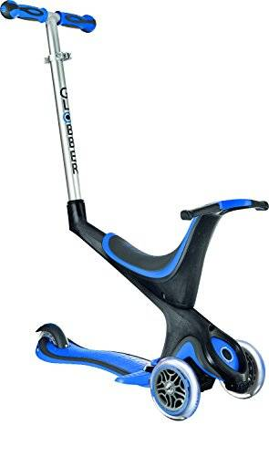 Globber My Free Seat - Patinete, color azul oscuro