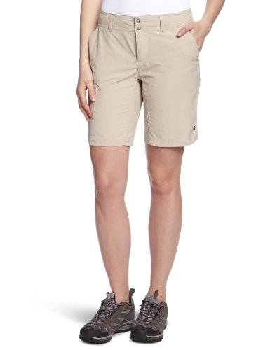 Columbia Silver Ridge Short, Shorts, Mujer, Beige (Fossil), 8